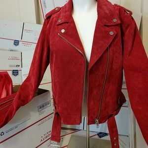 Debbie Harry/Obey Colab Suede Jacket